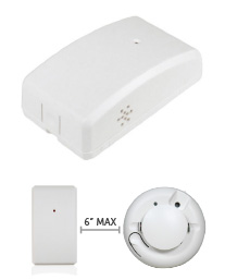 Smoke Alarm Detector Monitoring Unit